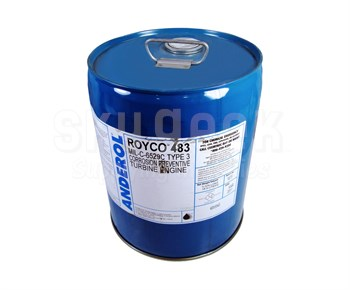 ROYCO® 483 Clear MIL-C-6529, Amendment 2, Type III Spec Turbine Engine Corrosion Preventative Compound - 5 Gallon Can