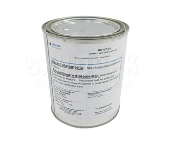 ROYCO® 44 Black MIL-T-5544C/AMS-2518B Spec Graphite & Technical Petrolatum Anti-Seize Compound - 1.75 lb Can