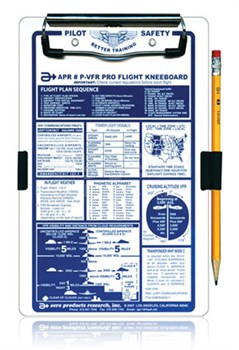 APR Industries P-VFR Deluxe VFR Pro Flight Kneeboard