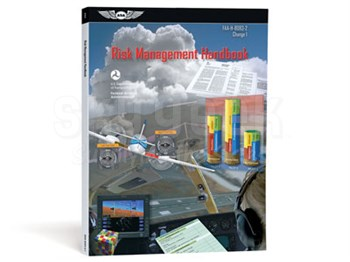 Aviation Supplies & Academics ASA-8083-2.1 Risk Management Handbook Softcover Book