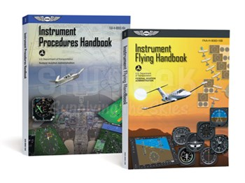Aviation Supplies & Academics ASA-8083-15B-16A Instrument Flying Handbook Combo