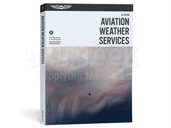 Aviation Supplies & Academics ASA-AC00-45H Aviation Weather Services Softcover Book