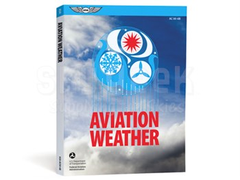 Aviation Supplies & Academics ASA-AC00-6B Aviation Weather Softcover Book
