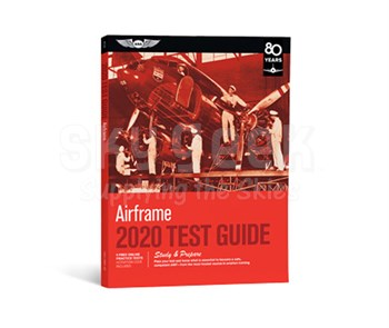 Aviation Supplies & Academics ASA-AMA-20 Airframe 2020 AMT Mechanic Fast Track Test Guide Book
