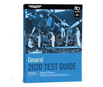 Aviation Supplies & Academics ASA-AMG-20 General 2020 AMT Mechanic Fast Track Test Guide Book