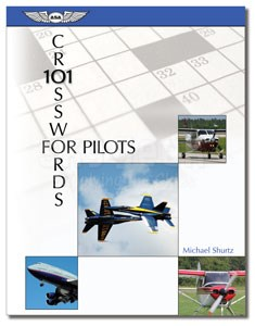 Aviation Supplies & Academics ASA-AV-XWORDS 101 Crosswords for Pilots