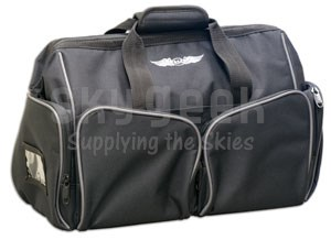 Aviation Supplies & Academics ASA-BAG-CARGO AirClassics™ Black 600D Polyester Cargo Flight Bag