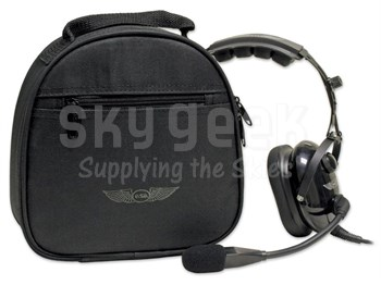 Aviation Supplies & Academics ASA-BAG-HS-2 AirClassics™ Double Headset Bag