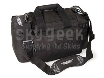 Aviation Supplies & Academics ASA-BAG-PRO-1 AirClassics™ Black 600D Polyester Pro Flight Bag