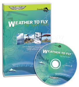 Aviation Supplies & Academics ASA-F2F-W2F Weather To Fly for Sport Pilots