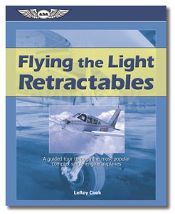 Aviation Supplies & Academics ASA-FLY-RG Flying Light Retractables Single-Engine Airplanes