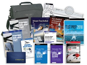 Aviation Supplies & Academics ASA-HELI-KIT Private Pilot Helicopter Student Kit