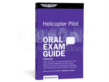Aviation Supplies & Academics ASA-OEG-H2 Oral Exam Guide: Helicopter Pilot