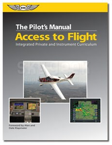 Aviation Supplies & Academics ASA-PM-AF Integrated Private and Instrument Curriculum Pilot's Manual