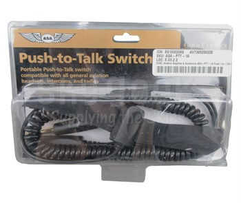 Aviation Supplies & Academics ASA-PTT-1A Push-to-Talk Switch
