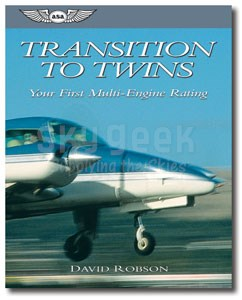 Aviation Supplies & Academics ASA-TWINS Transition To Twins by David Robson