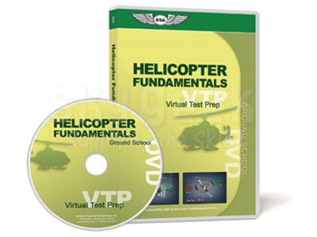 Aviation Supplies & Academics ASA-VTP-HELI Helicopter Virtual Test Prep™ DVD