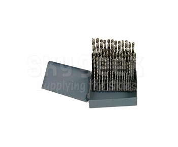Aircraft Tool Supply 012-C29F 1/16-1/2 Fractional Cobalt Drill Set