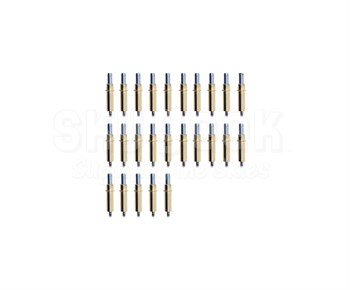 """California Associated CL-3/16 Brass 3/16""""/#10 Plier Operated Cleco Temporary Fastener - 25 Cleco/Pack"""