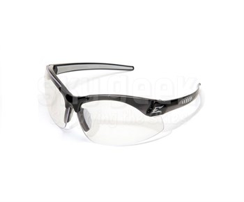Edge Zorge G2 DZ111-1.5-G2 Black Frame with 1.5 Magnification Clear Lenses Safety Glasses