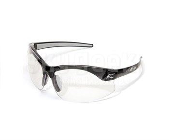 Edge Zorge G2 DZ111-2.0-G2 Black Frame with 2.0 Magnification Clear Lenses Safety Glasses