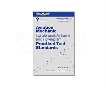 Aircraft Tool Supply FAA-S-8081 AMT Practical Test Standards Book