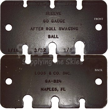 """Loos & Co GA-B24 Ball-Type Terminal Guage (for 1/16""""-1/8"""" cable)"""