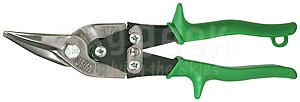 "Crescent Wiss® M-2R Metalmaster® Green Handle 9-3/4"" Compound Action Straight & Right Cut Aviation Metal Snips"