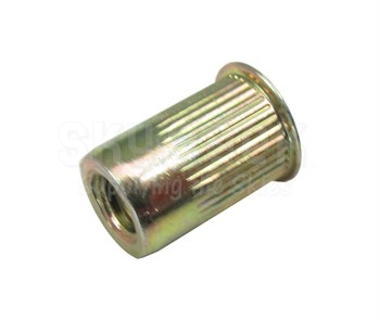 Avdel® DKS-420-165 Steel Clear Zinc 1/4-20 (0.027 - 0.165 Grip) Threaded Insert