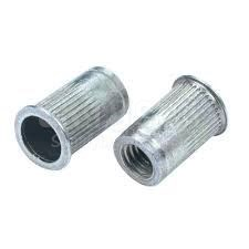 Avdel® DKS-632-80 Steel Clear Zinc 6-32 (0.020 - 0.080 Grip) Threaded Insert