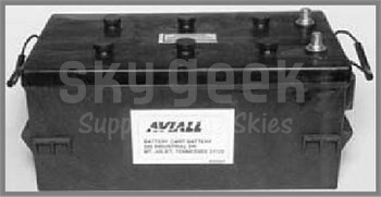 Aviall BS081PD Start Cart 8-Volt Cart Battery (ships dry)