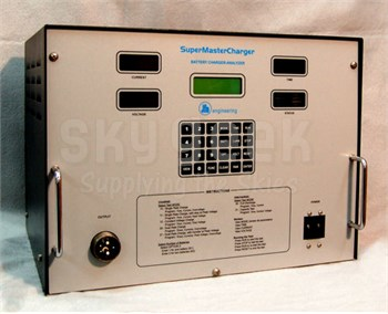 JFM Engineering 9899603001 SuperMasterCharger Aircraft Lead Acid & Ni-Cad Battery Charger / Analyzer