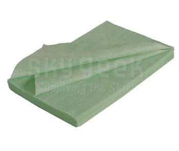 "Hentzen Aerospace 06841CS Green 9"" x 18"" Tack Rag - 5 Ea. 100-Pack Case"