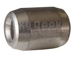 "Boeing BACT14A4 Stainless Steel 1/8"" Wire Rope Swaging Cylindrical Terminal"
