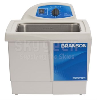 Bransonic® CPX-952-517R Ultrasonic Cleaner M5800H - Mechanical Timer - Heater