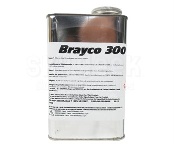 Castrol® Brayco™ 300 Amber MIL-PRF­-32033A Type I Class 1 Spec Low Temperature Water Displacing General-Purpose Preservative - Quart Tin