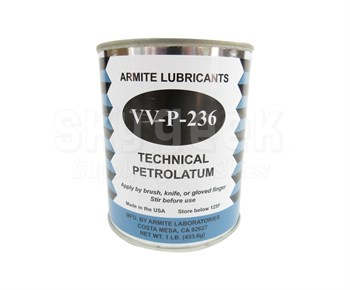 Armite 12-01 Yellow VV-P-236A Spec Petroleum Jelly (Petrolatum) - 1 lb Can