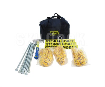 Storm Force SFTD01RST3 Aircraft Tie Down Kit