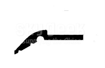 Airbus NSA360068-8613 Gray Soft Rubber Seal