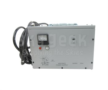 Bycan PS-28100E 28-Volt/230 VAC/50 Hz Auxiliary Power Unit with Cessna Style/AN2551 Plug