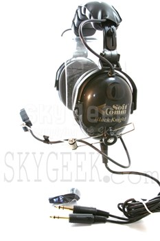SoftComm C-50 Black Knight Mono Headset