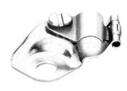 Camloc® 7C1-4 Stainless Steel Single Hole Slotted Clamp, Loop
