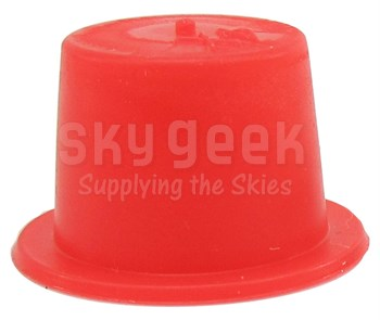 "Caplug T-4X Red .447"" Tapered Dust & Moisture Cap"