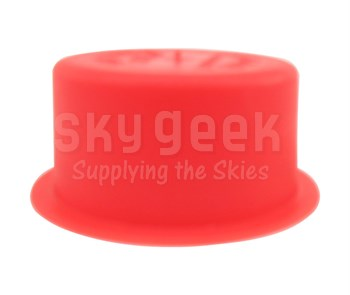 "Caplug T-727 Red 1.435"" Tapered Dust & Moisture Cap"