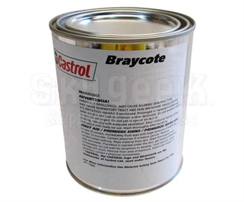 Castrol Braycote 646 Light Tan MIL-L-46000C Amnd. 1 Spec Semi-Fluid Lithium Thickened Synthetic Grease - Quart Can