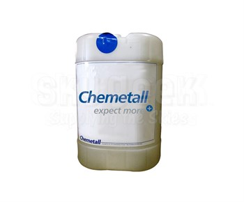 Chemetall ARDROX® 6333A Amber MIL-PRF-29602 Type I Low Foam Alkaline Cleaning Compound - 25 Liter Pail