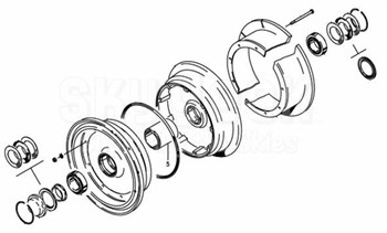 Cleveland 40-101A Wheel Assembly