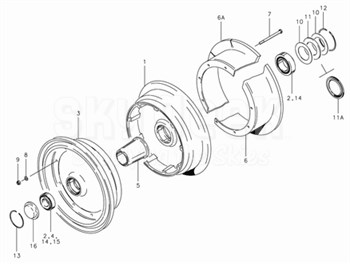 Cleveland 40-135 Wheel Assembly