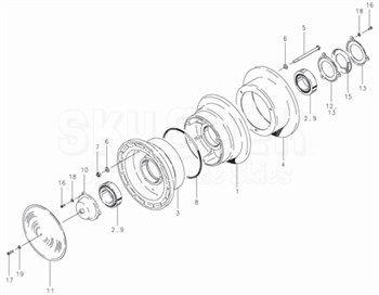 Cleveland 40-37 Wheel Assembly