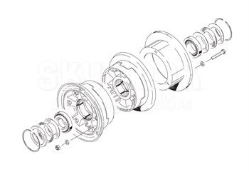 Cleveland D-30660-10 Wheel Assembly